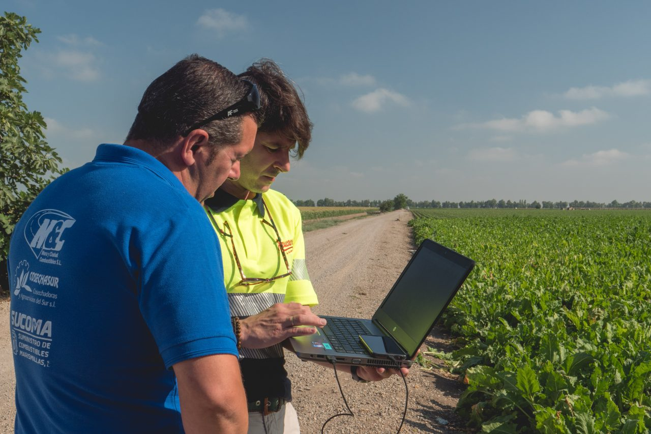 We launch a new Precision Agriculture project for Azucarera through Agroteo